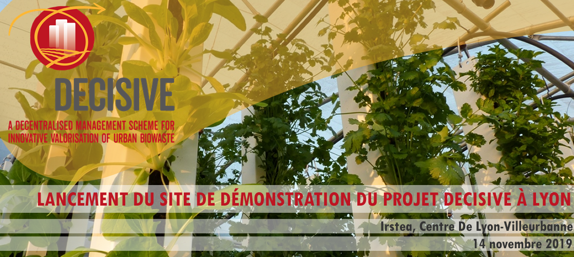 DECISIVE | Launch of the first demonstration site in Lyon
